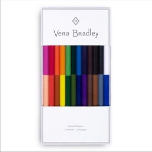 Vera Bradley Colored Pencil Set